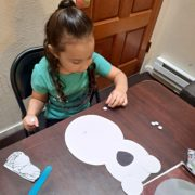 Mother participating in Up Valley bilingual playgroup
