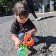 Mother who received financial assistance for child care