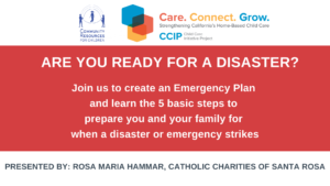 CCIP: Emergency Preparedness - LISTOS Ready @ Zoom
