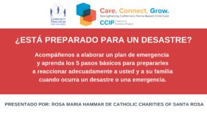 CCIP - Preparación Para Emergencias - LISTOS @ Zoom