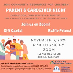 Parent & Caregiver Cafe